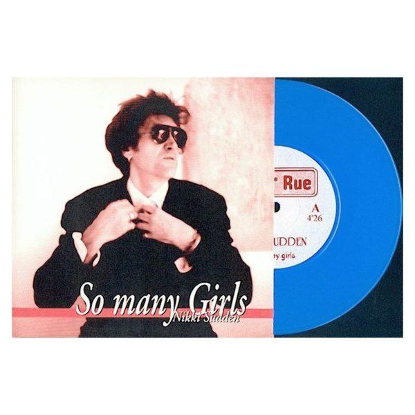 Nikki Sudden : So Many Girls - RUE 004