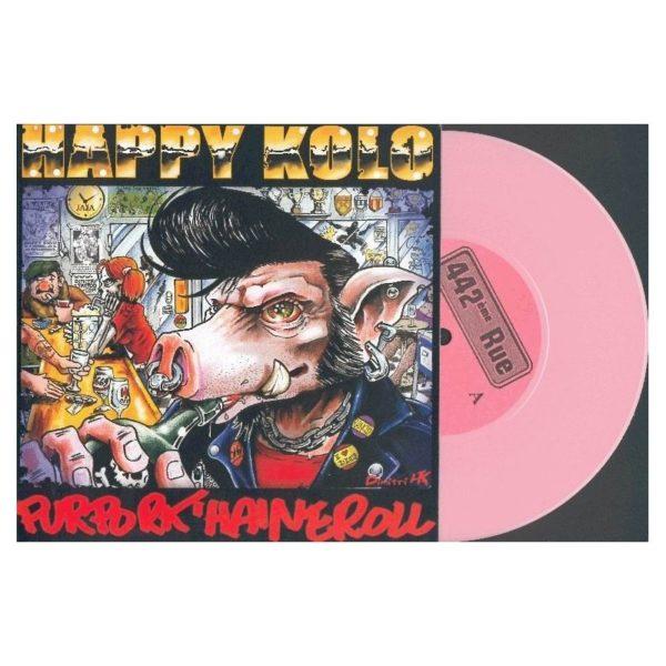 HAPPY KOLO / CHARLY'S ANGELS : Split EP - RUE 006