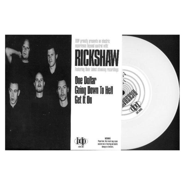 RICKSHAW / TRIGGER - Split EP
