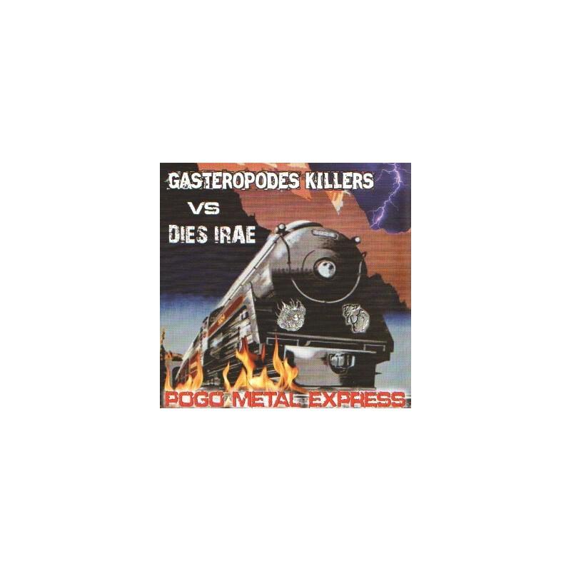 GASTEROPODES KILLERS vs DIES IRAE - Pogo metal express