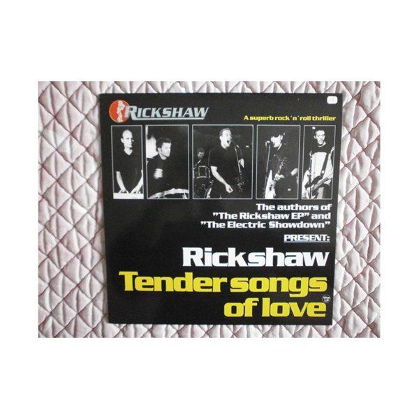 RICKSHAW - Tender songs of love - LP
