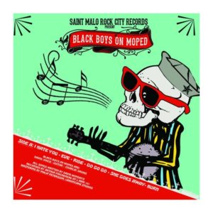BLACK BOYS ON MOPED – CHUCK TWINS CALIFORNIA – Split LP