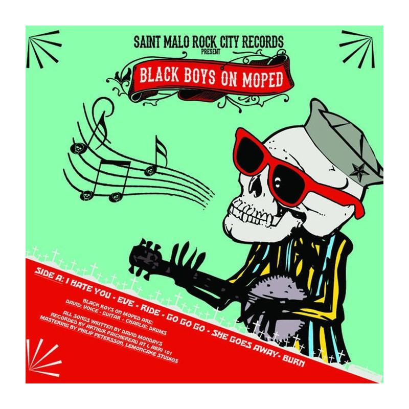 BLACK BOSY ON MOPED - CHUCK TWINS CALIFORNIA - Split LP
