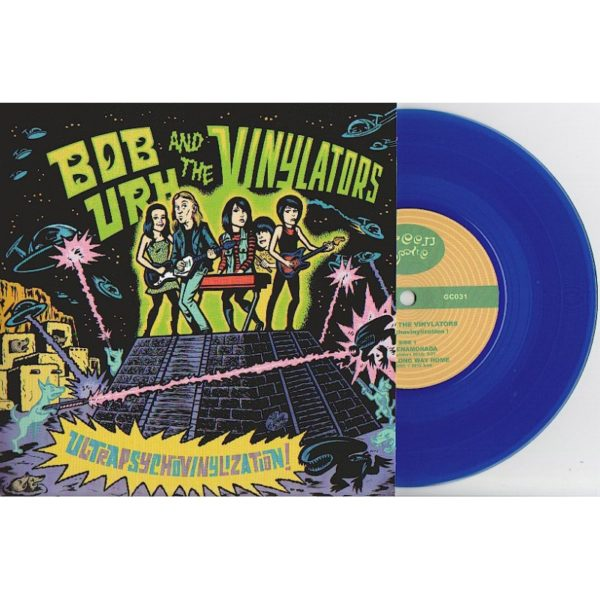 Bob URH and the VINYLATORS - Ultrapsychovinylization