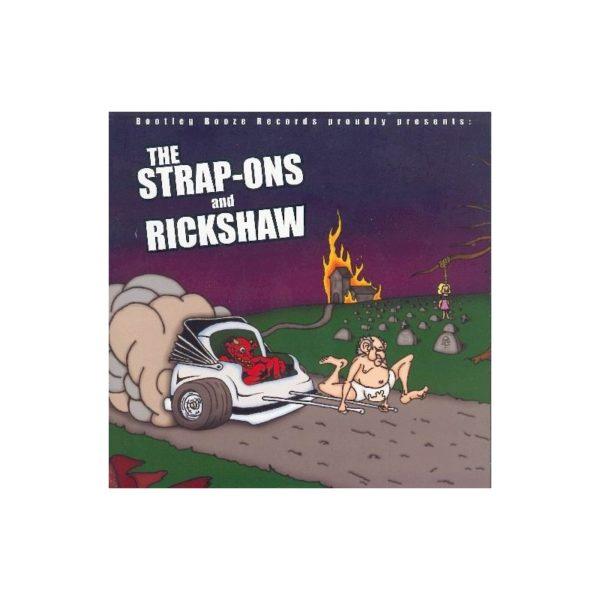 The STRAP-ONS & RICKSHAW - Split EP