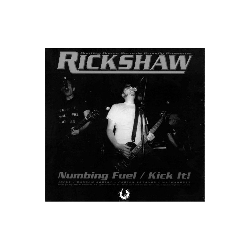 RICKSHAW - NOISE OF REALITY - Split EP