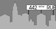 Logo de la 442e Rue